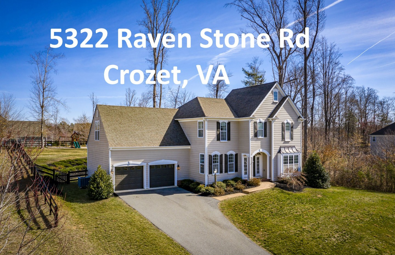 5322 Raven Stone Rd. Crozet VA 22932