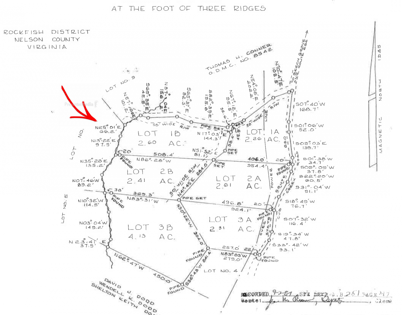 Lot 2b Winterfalls Ii Subdivision Roseland VA 22967
