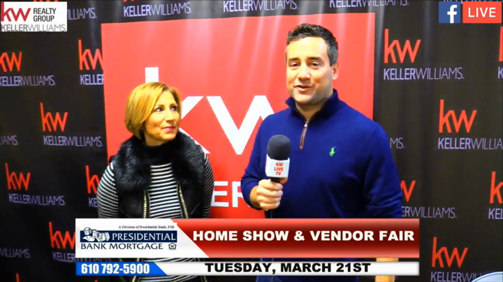 The BK Group Discusses the Keller Williams Limerick Vendor Fair